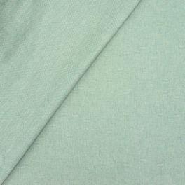 Tissu en coton enduit vert