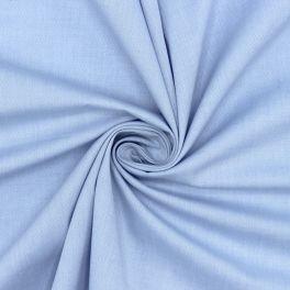 Tissu chemise jacquard bleu