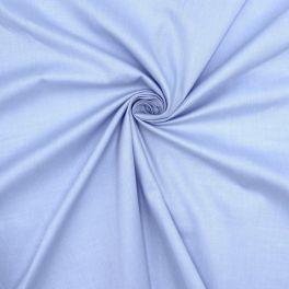 Tissu en coton satiné ciel
