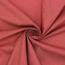 Extensible shirt fabric - raspberry red
