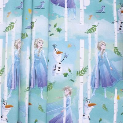 Cotton printed with Frozen