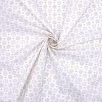 Cotton with pattern - beige