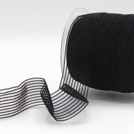 Rooster elastiek voor lingerie - zwart