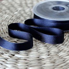 Satin ribbon - midnight blue