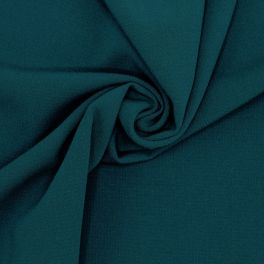 Extensible fabric - peacock blue