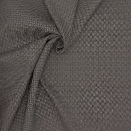 Apparel fabric with grey and black