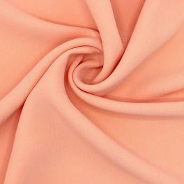 Polyester fabric - plain salmon