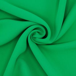 Polyesterstof - effen groen