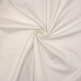 Rekbare katoen - wit