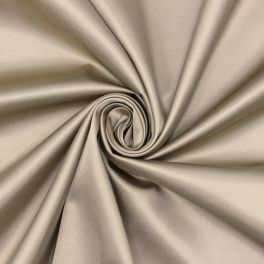 Extensible satin of viscose - beige
