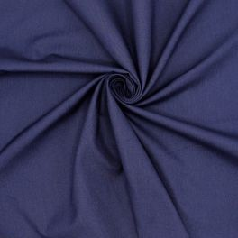 Apparel fabric in cotton and lyocell - blue
