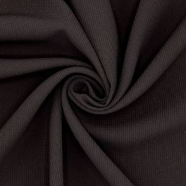 Apparel fabric in polyester - black