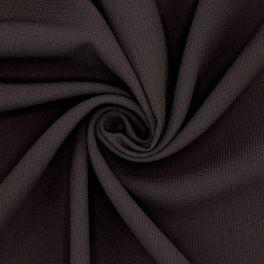Kledingstof in polyester - zwart