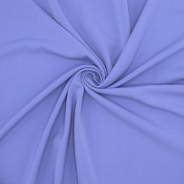 Extensible fabric with twill weave - lavender blue