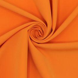 Rekbare polyesterstof - oranje