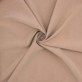 Rekbare polyesterstof - beige