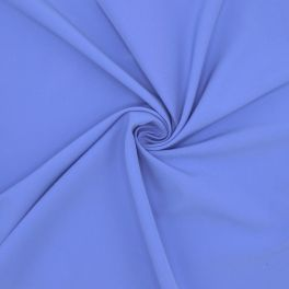 Extensible polyester fabric - azure blue
