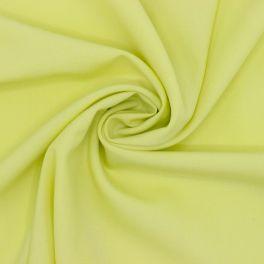 Tissu polyester et élasthanne anis