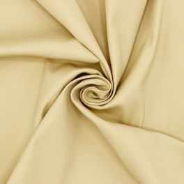 Extensible twill fabric - beige