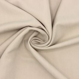 Twill fabric with washed silk aspect - beige