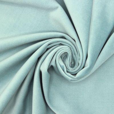 Velvet of smooth cotton - sky blue