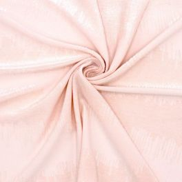 Polyester jacquard fabric - pink