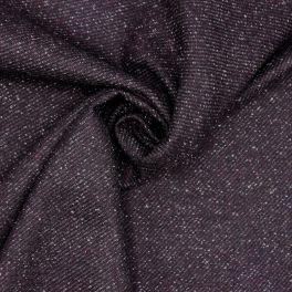 Apparel fabric in wool - plum