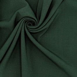 Stretch fabric in polyester - green