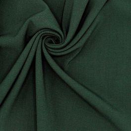 Tissu stretch en polyester vert
