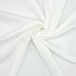 Tissu 100% viscose blanc