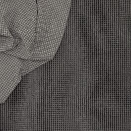 Double-sided jacquard fabric - black and white
