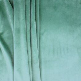 Velvet upholstery fabric - green