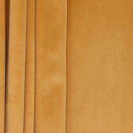Tissu d'ameublement velours or