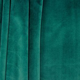 Velvet upholstery fabric - forest green