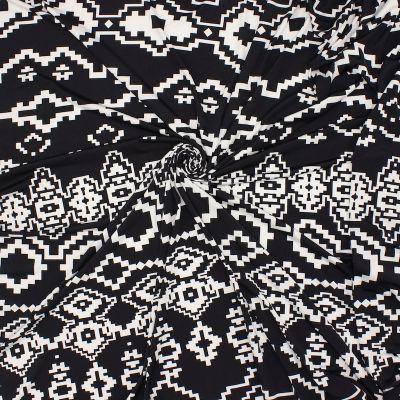 Tissu jersey en polyester imprimé