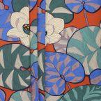 Tissu d'ameublement imprimé floral