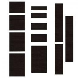 Geëmailleerd elastiek van 7mm - zwart