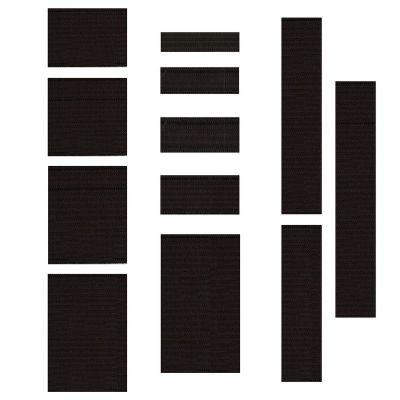 Enamelled elastic - black