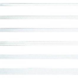Elastique tresse de 12mm blanc