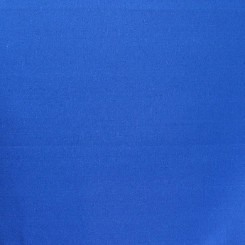Effen zijde faille blauw