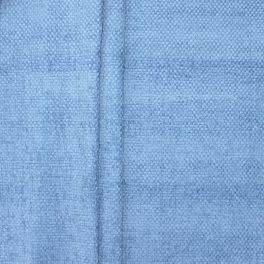 Chenille upholstery fabric - blue