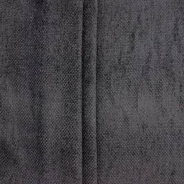 Chenille upholstery fabric - antracite