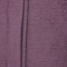 Tissu d'ameublement jacquard chenille prune