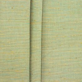 Ribbed upholstery fabric - flammed green