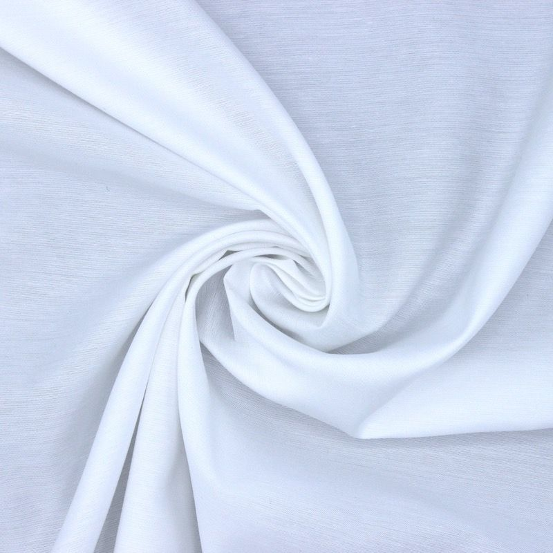 Polyester fabric - white