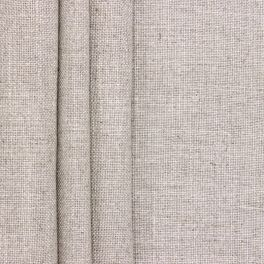 Upholstery fabric in viscose and linen