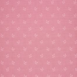 Upholstery fabric with floral print - pink shades