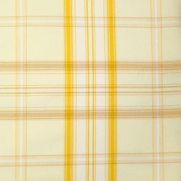 Checkered upholstery fabric - yellow