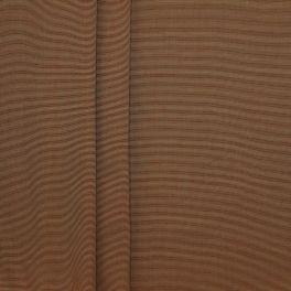 Tissu d'ameublement reps couleur Mordoré