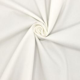 Extensible apparel fabric in cotton